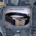Rosie\'s JEANS Dog coll-art, Állatfelszerelések, Egyedi megjelenésű farmer nyakörvek Minden méretben, fajtában rendelhető:  Fémcsatos,  Övcsa..., Meska