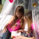 Baldachin dísz - 3 db/csomag textilvirág kitűző, Otthon & lakás, Gyerek & játék, Esküvő, Dekoráció, Gyerekszoba, Ékszerkészítés, Baldachin és függöny díszítésre ajánlom a textilvirág kitűzőimet.  Fehér, ekrű, pezsgő színben eskü..., Meska