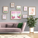 Virágosat álmodtam – galéria fal szett, Otthon & Lakás, Dekoráció, Kép & Falikép, Újrahasznosított alapanyagból készült termékek, Festészet, A legkülönlegesebb virágos festményeim ART PRINT változatai - hogy még szebbé és egyedibbé varázsol..., Meska