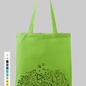 Bevásárló szatyor, Táska, Szatyor, Kíméljük a környezetünket. Használjunk textil táskákat bevásárláshoz. A minták és a sza..., Meska