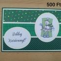 Karácsonyi képeslap, Karácsony, Ajándékkísérő, Mindenmás, Egyedi karácsonyi képeslap, Meska