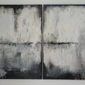 festmény, Dekoráció, Képzőművészet, Kép, Festmény, Festészet, Mérete: 100x70 ( 2 db 50x70-es vászon), Meska