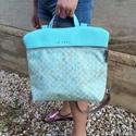 Mobile bag 2 részes táska hátizsákos résszel, Táska, Válltáska, oldaltáska, Hátizsák, Szatyor,   Mobile bag elnevezés abból adódik, hogy ez a táska mobilokból áll. 1. mobil - felsőrész: tiszta bő..., Meska