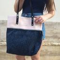 Mobile bag  2 részes táska oldaltáska, Táska, Válltáska, oldaltáska, Hátizsák, Szatyor,  Mobile bag elnevezés abból adódik, hogy ez a táska mobilokból áll. 1. mobil - felsőrész: tiszta bőr..., Meska
