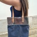 Mobile bag  2 részes táska oldaltáska, Táska, Válltáska, oldaltáska, Hátizsák, Szatyor, Mobile bag elnevezés abból adódik, hogy ez a táska mobilokból áll. 1. mobil - felsőrész: tiszta bőr,..., Meska