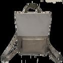 Tekla's bag világosszürke-szürkepearl bőr, Táska, Hátizsák, TEKLA's hátitáska.  Cordura és marhabőr felhasználásával készült. mérete:  szélesség: 33 cm, alul 24..., Meska