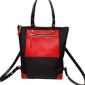 Lindy bag váll-hátitáska cordura -bőr, táska, Táska, Válltáska, oldaltáska, Hátizsák, Lindy bag  hátitáska, válltáska, egyedi táska, újragondolva, cserélhető vállpántokkal, hog..., Meska