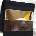 Tükrös-bronz táska-oldaltáska, Baba-mama-gyerek, Táska, Válltáska, oldaltáska, Varrás, Patchwork, foltvarrás, Bronz és tükör hatású textilbőrrel diszitettem ezt a mutatós,divatos táskát.Erős,strapabíró,jó tart..., Meska