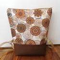 Mandala mintás hátitáska, Mandala mintás táska. A táska mintás textilbő...