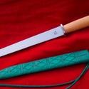Rondell tőr  BD-005, Férfiaknak, Hagyományőrző ajándékok, Bőrművesség, Fémmegmunkálás, 15.századra jellemző Rondell tőr tokkal.Teljes hossza 37cm , penge hossza 24cm , vastagsága 5mm , a..., Meska