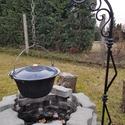 Bográcstartó állvány, Nagyon szeretünk a családdal a kertben főzni.  ...