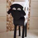 Bari Wc papír tartó, Lánykáim fürdőszobájába készítettem ezt a ...