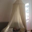 Hepphabit gyerek baldachin,sátor, Gyerek & játék, Gyerekszoba, Varrás, Nyers pamutvászon baldachin, gyerek sátor mérete:kb 2,5 méter hosszú, karika átmérője kb 80cm  kéré..., Meska