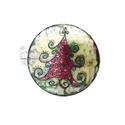 Fenyő ünneplőben selyem ablakkép , Dekoráció, Otthon, lakberendezés, Kép, Varázskép sorozatom darabjai közül egy ünneplőbe öltözött fenyőfa varázskép... Saját zsűriztetett mi..., Meska