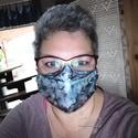 Maszk szemüvegeseknek hernyóselyemből, szájmaszk ünnepi alkalomra, mosható maszk , Te is jártál úgy hogy semelyik maszk nem passzo...