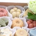 HERBA  MIX Szappan bonbon válogatás -  9 db-os!!!! , Szépségápolás, Szappan, tisztálkodószer, Növényi alapanyagú szappan, Tartalma készlettől függően változhat  (9 darabos):  - Rózsaszínagyagos szappan bonbon  - Csipkebogy..., Meska