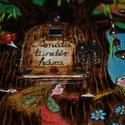 Léleksegítő Tündérház - Amáta tündér háza fából, kivehető tündérkével:-), Baba-mama-gyerek, Játék, Baba-mama kellék, Fajáték, Famegmunkálás, Festett tárgyak, Léleksegítő Tündérházak és Manóházak (nem csak) gyerekeknek.... Minden darab egyedi!Többféle típus ..., Meska