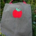 The Red Apple. Shopper., Erős, jól pakolható bevásárló szatyor  alma ...