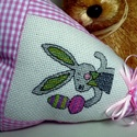Happy Bunny. Tavaszváró dísz., Kedves tavasz/Húsvétváró babaszoba/lakás/irod...