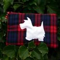 I LOVE SCOTLAND. Westie-s kozmetikai táska/pénztárca., Kedves darab a hozzám hasonló Skócia és  kutya...