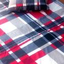 Kék, szürke, bordó ágytakaró garnitúra párnahuzatokkal Akciós termék:o) , Otthon, lakberendezés, Lakástextil, Takaró, ágytakaró, Ágynemű, Varrás,  Füstszürke, világoskék, sötétkék, bordó mintás ágytakaró, vagy paplan.   2 az 1-ben ágytakaró!  So..., Meska
