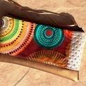 Desigual - bronz mintás tolltartó/neszi , Táska, Ruha, divat, cipő, Neszesszer, Pénztárca, tok, tárca, Desigual stílusú mintás designer textillel, és bronz - gyöngyház textilbőrrel kombinált tolltartó va..., Meska