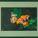'Sétányrózsa' olajfestmény, 41x31 cm, Képzőművészet, Festmény, Olajfestmény, Festészet, Farostra festett olajfestmény. Nagyon aprólékosan kidolgozott. Az ár a keretet tartalmazza., Meska
