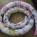 Kiságyba rácsvédő kígyó, Baba-mama-gyerek, Gyerekszoba, Kígyó - kiságyba fejvédőnek, ablakba huzatfogónak.... Ezt kiságyba készítettem, kérésre, de szívesen..., Meska