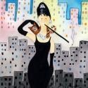 Álom luxuskivitelben - művészi nyomat, Képzőművészet, Festmény, Akvarell, Illusztráció, Kispéldányszámú (20), aláírt számozott nyomat az eredeti akvarell festményről. Mérete 15x21 cm, A4-..., Meska