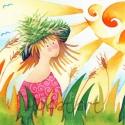 Évszakok, Képzőművészet, Festmény, Akvarell, Illusztráció, Festészet, Évszakok - Ősz, Tél, Tavasz, Nyár A csomagban 4 db művészi nyomatot találsz Kispéldányszámú (20), a..., Meska