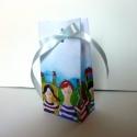 Gyerkőcös tasak, Képzőművészet, Mesés pici tasak, akvarell mesével díszítve. PDF formátumba szerkesztettem ezt az aranyos kis tasako..., Meska