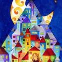 A kis gyufaáruslány - A3-as méretű nyomat, Képzőművészet, Festmény, Akvarell, Festészet, Fotó, grafika, rajz, illusztráció, A3-as (29,7 x 42 cm) művészi nyomat, szignózva. 300 g -os műnyomó papíron Két A3-as vastag karton k..., Meska