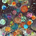Színezd színesre  - A3-as méretű nyomat, Képzőművészet, Festmény, Akvarell, Pacákat kaptál az élettől, addig színezd míg szép nem lesz. A3-as (29,7 x 42 cm) művészi nyomat, szi..., Meska