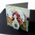 3D mese- A csodás ajándék, Naptár, képeslap, album, Képzőművészet, Játék, Képeslap, levélpapír, Egy kis játék Neked, s gyermekednek! Készíthetsz belőle képeslapot, vagy beleteheted egy képkeretbe ..., Meska