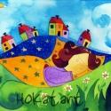 Álomkóc - művészi nyomat, Képzőművészet, Festmény, Akvarell, Illusztráció, Festészet, Kispéldányszámú reprodukció (20), aláírt számozott nyomat az eredeti akvarell festményről. Mérete ..., Meska