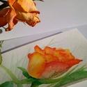 Örökké nyíló rózsa, Dekoráció, Képzőművészet, Szerelmeseknek, Festmény, Ez a rózsa sosem hervad el - örökre szóló ajándék lehet bármilyen alkalomból, legyen az né..., Meska