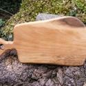 fa  vágódeszka, lapító, Konyhafelszerelés, Vágódeszka, Egy darab keményfából /diófa/ készült  vágódeszka. Nem ragasztott, nagyon tartós.  Mérete:..., Meska