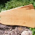 Kőrisfa  vágódeszka, lapító, Konyhafelszerelés, Vágódeszka, Egy darab keményfából /kőrisfa/ készült  vágódeszka. Nem ragasztott, nagyon tartós.  Mérete: 44x27x2..., Meska