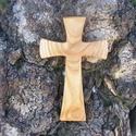 Fakereszt , Mindenmás, Vallási tárgyak, Cseresznyefából készült, falra akasztható kereszt. Mérete:19x12x2cm, Meska