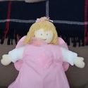 angyalka párna, Saját készítésű angyalka párna, kis ruhával...