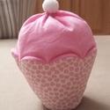 Muffin tejszínhabos, Dekoráció, Játék, Édes legyen, de ne hízlalós! Ez a megfelelő választás. A muffin alját mintás pamutvászonból varrtam,..., Meska