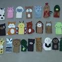 Ujjbáb, Játék, Báb, Ezeket az ujjbábokat egy kedves ismerősöm kérésére készítettem. 3 fő csoportból áll a 30 db-os bábké..., Meska
