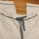 Csíkos-masnis pizsama alsó, Táska, Divat & Szépség, Ruha, divat, Szuper puha pamutvászon anyagból varrtam ezt a csini pizsama alsót. Derekánál és a lábán díszítő csí..., Meska