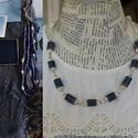 Farmer romantika, Ékszer, Nyaklánc, A farmer örök darab, hozzá készült ez a romantikus egysoros nyaklánc, az egyszerűség jegyében. A kop..., Meska