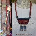 Ladakh- szett, Ékszer, Ékszerszett, A nyakék nevét a tibeti buddhizmus fellegváráról kapta, mert az ékszert díszítő sok kis henger az im..., Meska