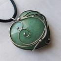 Aventurin ♥ medál, Saját tervezésű egyedi kézműves alkotás.  A ...