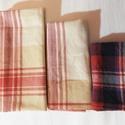Textil zsebkendő szett, NoWaste, Textilek, Varrás, Ha szeretnél visszatérni a hagyományos textil zsebkendő használatára, vagy a készleted szeretnéd ki..., Meska