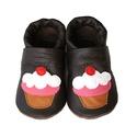Bőr puhatalpú babacipő - Muffin, Baba-mama-gyerek, Ruha, divat, cipő, Gyerekruha, Baba (0-1év), Teljesen bőr babacipő, mely ideális a járni tanuló babáknak, vagy nagyobb gyermekeknek.  15-26-os mé..., Meska