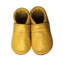 Készleten lévő bőr puhatalpú babacipő - 20-as méret - Mustársárga, Baba-mama-gyerek, Ruha, divat, cipő, Cipő, papucs, Teljesen bőr babacipő, mely ideális a járni tanuló babáknak, vagy nagyobb gyermekeknek.  ××× Azonnal..., Meska