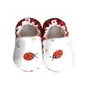 Katicás kocsicipő, Baba-mama-gyerek, Ruha, divat, cipő, Cipő, papucs, 16-19-es méretben rendelhetők a cipőcskék, kívül-belül pamutból készülnek, illetve a két réteg közé ..., Meska